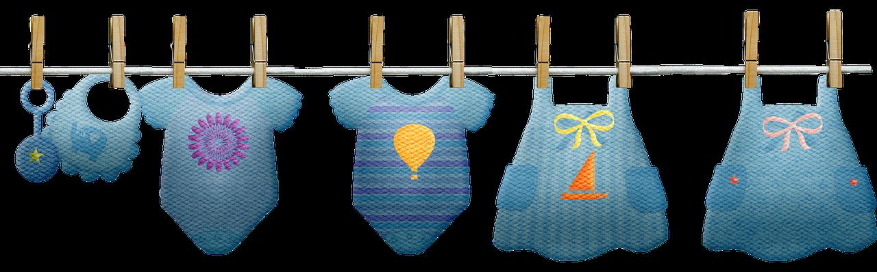 Baby Clothes Clothesline Boy - Free image on Pixabay