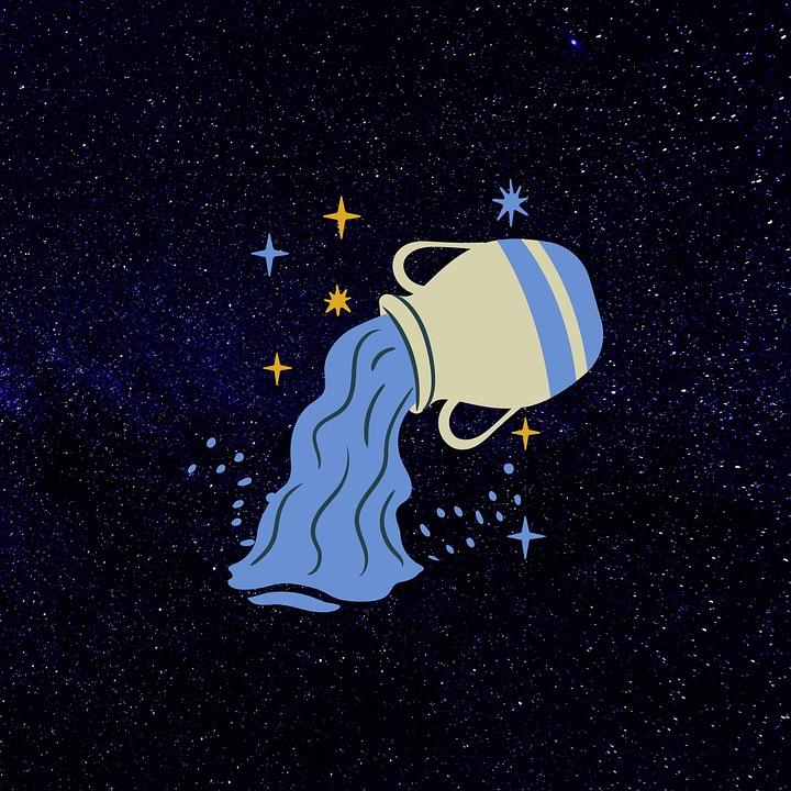 Aquarius, Horoscope, Astrology, Symbol, Star, Sign