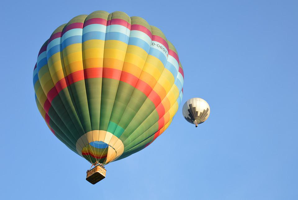 Hot Air Balloon, Captive Balloon, Drive, Balloon
