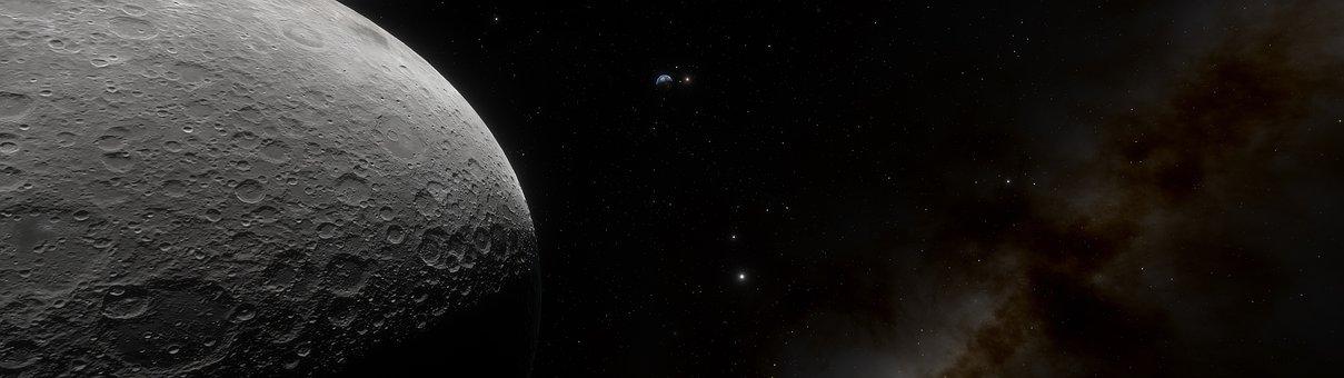 Sistema Solare, Luna, Astronomia, Spazio