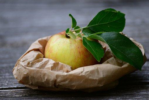 Apple, Fruit, Bio, One, Fresh, Healthy