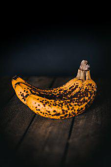 Bananas, Ripe, Fruit, Healthy, Food
