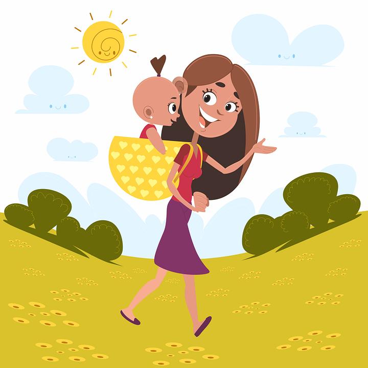 Mama, Fiica, Familia, Copilul, Femeie, Fericirea