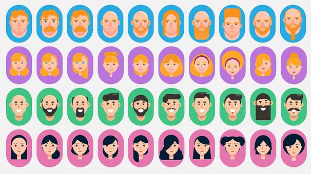 顔, 頭, アイコン, 女性, 男, 人, プロフィール, プロフィール アインの集客マーケティングブログ