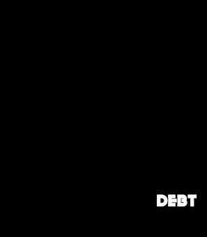 負債, 重量, 男, 法的, 実業家, シルエット, チェーン, ファイナンス