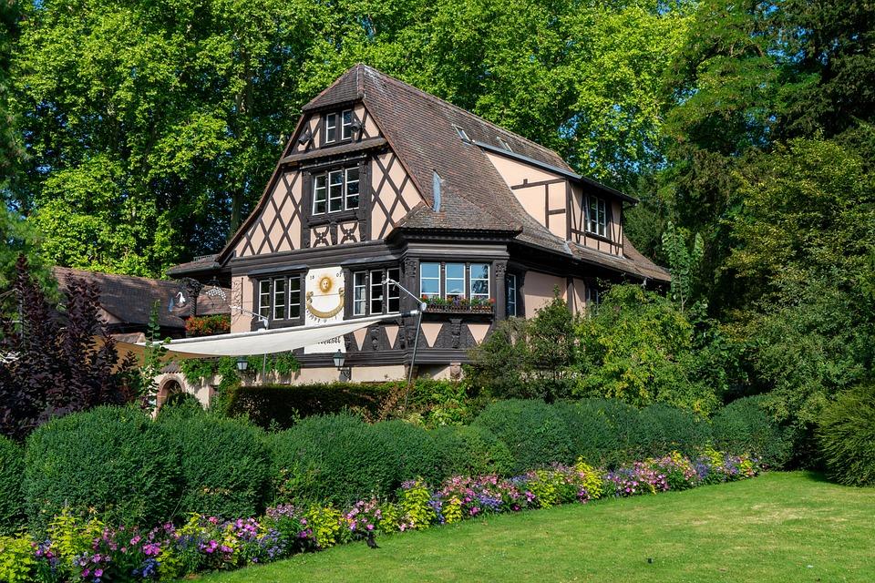 L'Architecture, Restaurant, Parc De L'Orangerie