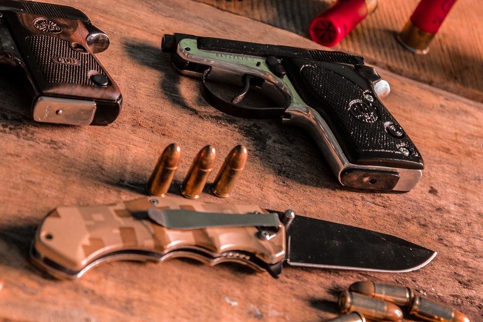 Guns, Bullets, Weapons, Cartridges, Armament, Army