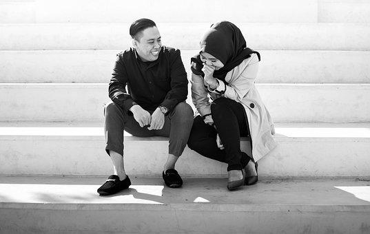 Couple, Happy, Love, Indonesia, Dating