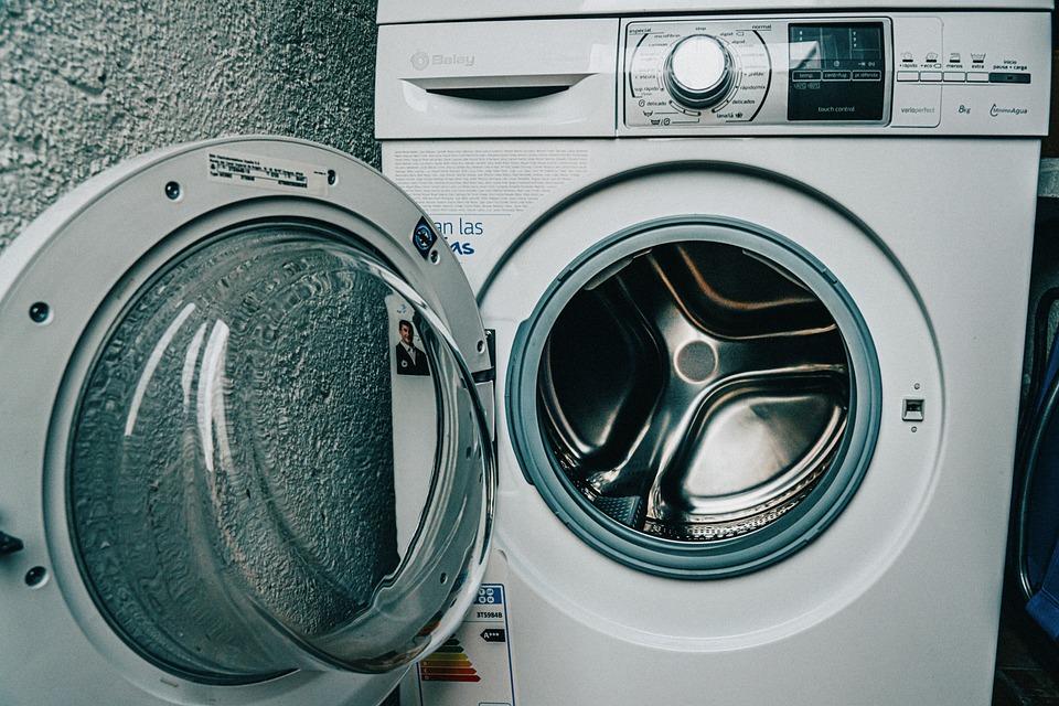 洗濯機, クリーン, 服