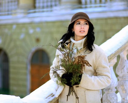 Woman, Plant, Attractive, Model