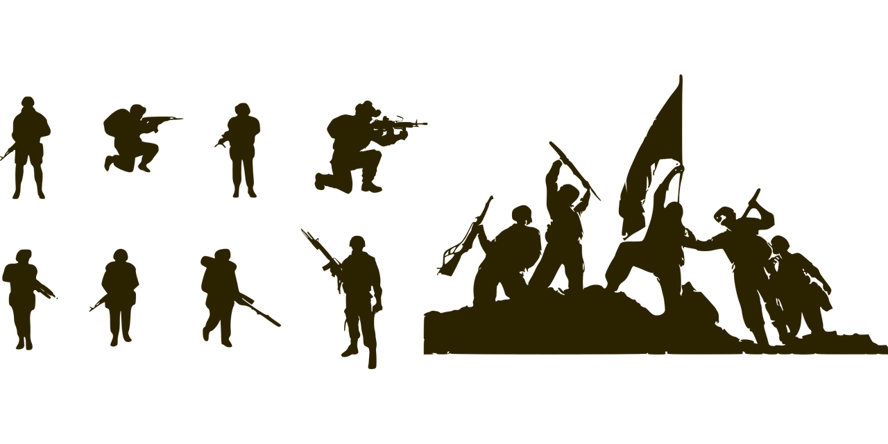 soldier guns military army free vector graphic on pixabay https creativecommons org licenses publicdomain