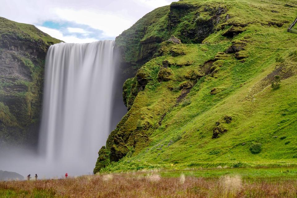 Cascada Skogafoss sur Islandia