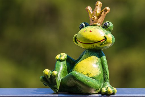 Frog, Figure, Frog Prince, Fairy Tales