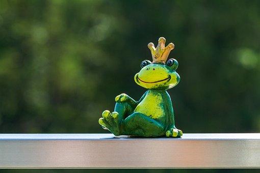 Frog, Figure, Prince, Fairy Tale Prince