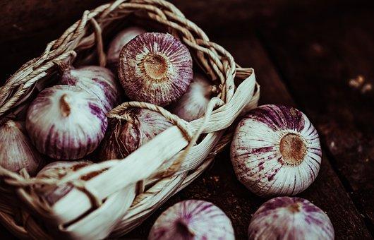 Garlic, Harvest, Tuber, Food, Vegetables