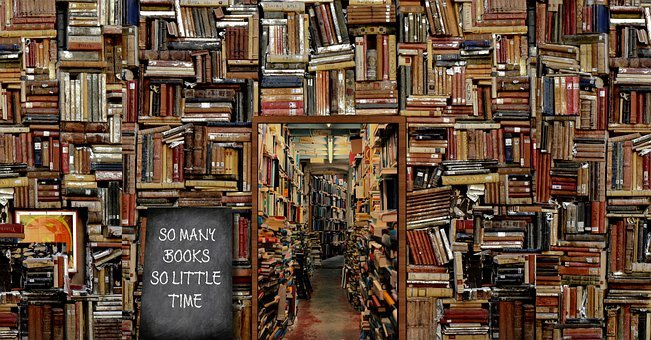 Books, Library, Education, Knowledge