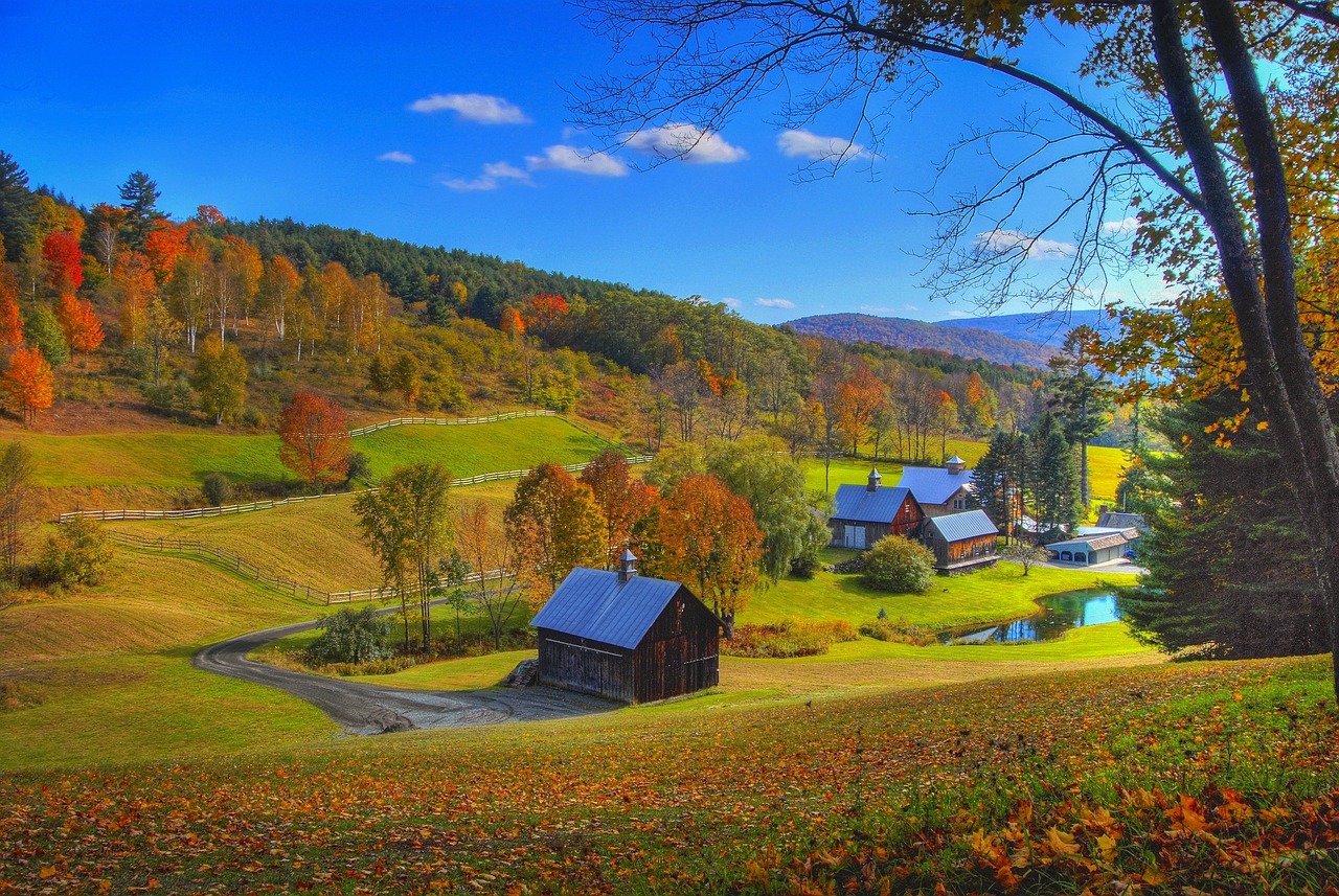Foliage Vermont Plains - Free photo on Pixabay