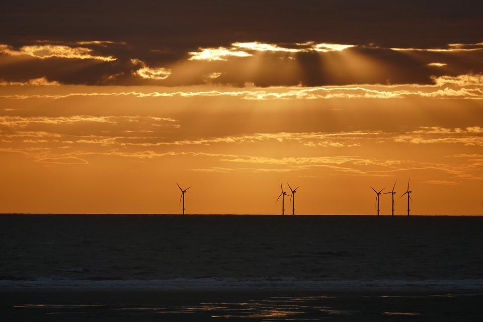 Wind Power, Offshore, Coast, Wind Turbines, Windräder