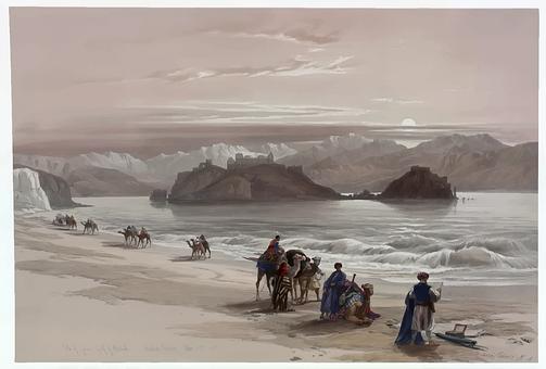 Beach, Kameler, Husvagn, Människor