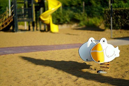 Children'S Playground, Sand, Jungle Gym