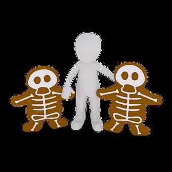 コショウのケーキ, クッキー, 焼く, クリスマス, ペストリー, 装飾, 茶色