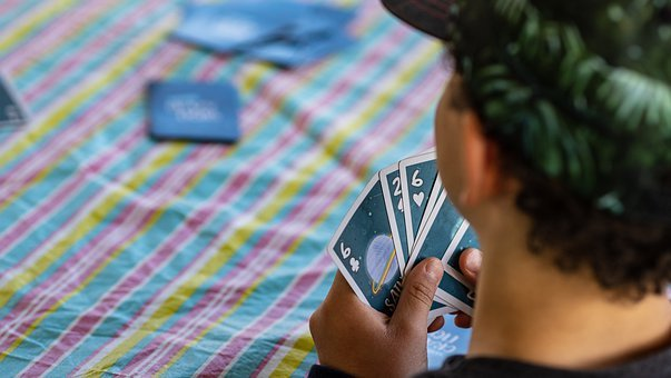 Cards, Game, Kids, Child, Poker, Hand