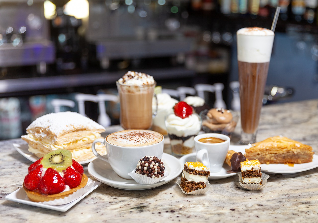 Pastries Coffee Drinks - Free photo on Pixabay