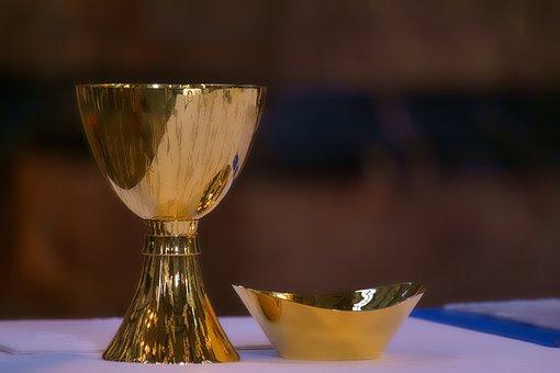 Komunia, Eucharystyczną Kielich, Wina