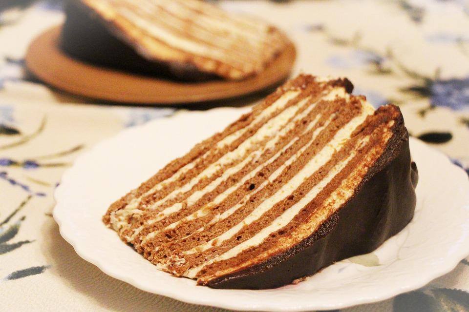 Cake, Layers, Bakery, Sweet, Gourmet, Russian Cake