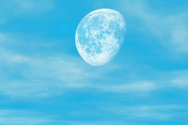 Moon u003cbu003eSkyu003c/bu003e Clouds Half - Free photo on Pixabay