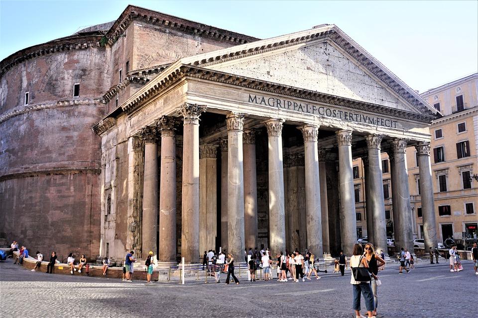 Roma, Pantheon, Storico, Italia
