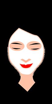 Gesichtsmaske, Haut, Hautpflege, Frau