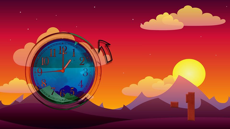 Tijdconversie, Wintertijd, Uhrumstellung