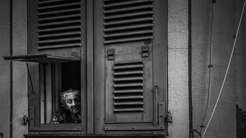 Woman, Window, Search, Alone, Sad, Lonely, Emotions