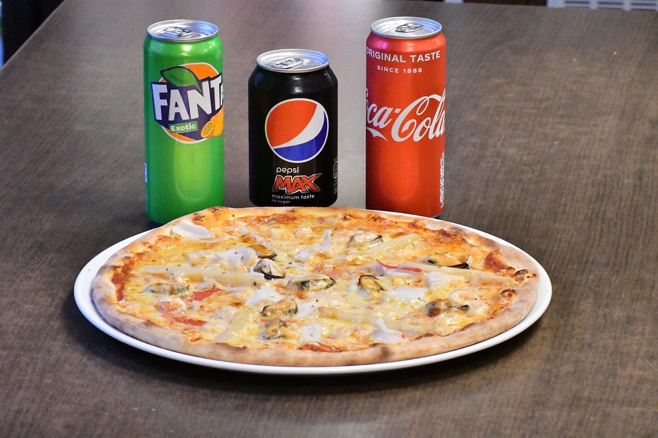 Pizza Cola Fanta - Free photo on Pixabay