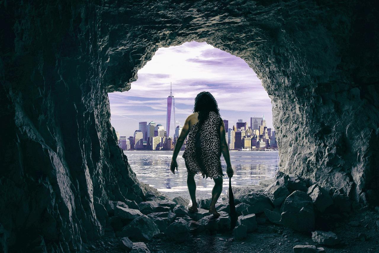 Cueva Cavernícola Ciudad - Foto gratis en Pixabay