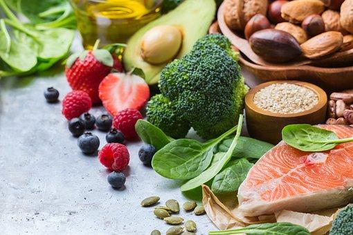 Fruits, Vegetables, Nuts, Leaves, Diet