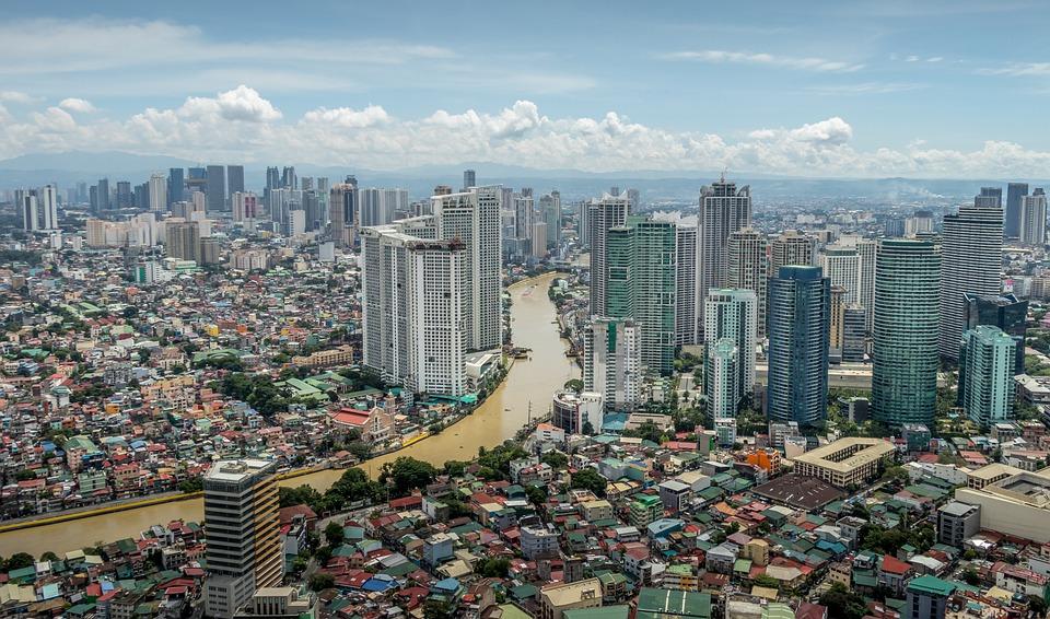 Manila, City, Philippines, Makati, Architecture
