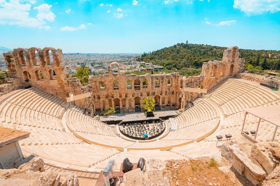 Greco, Teatro, Grecia, Monumento, Antichità, Cultura