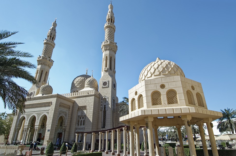 U A E, Dubai, Città, Moschea Centrale Jumeirah, Moschea