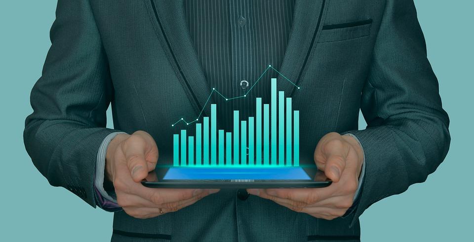 Business, Chart, Graph, Graphic, Diagram, Success