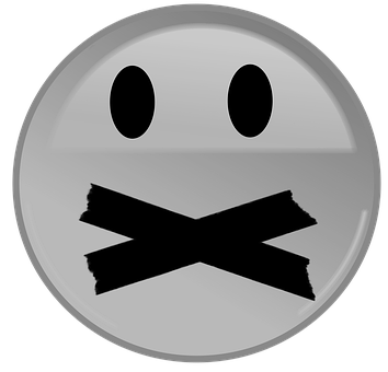 Gesicht, Emoji, Schweigen, Stumm, Knebel