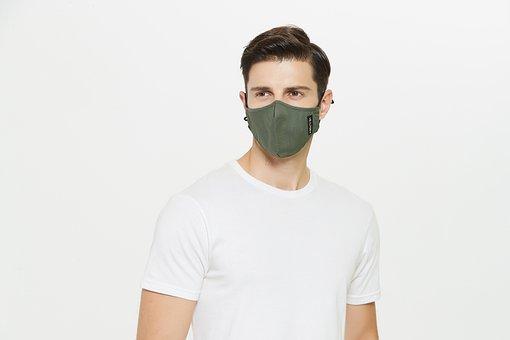 Man, Model, Face Mask, Mask, Pose