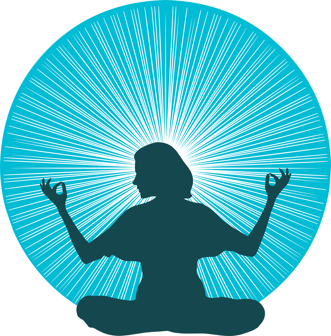 woman yoga meditation free vector graphic on pixabay https creativecommons org licenses publicdomain