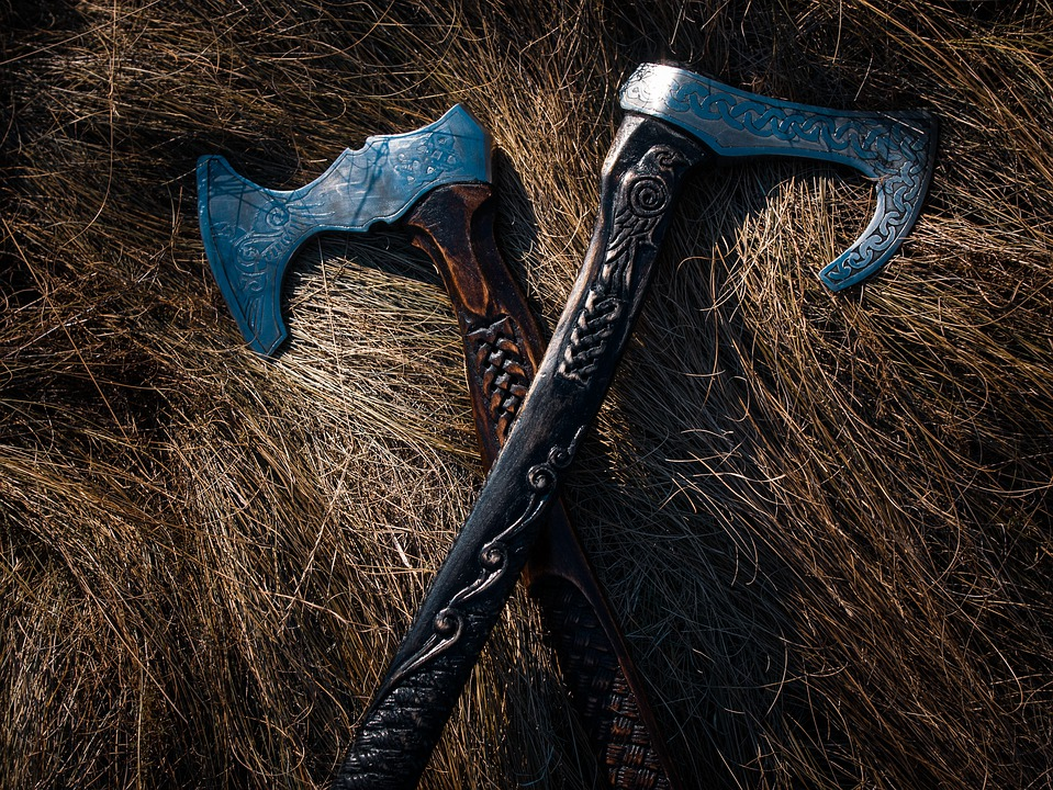 Ax, Weapon, Tool, Equipment, Viking, Battle
