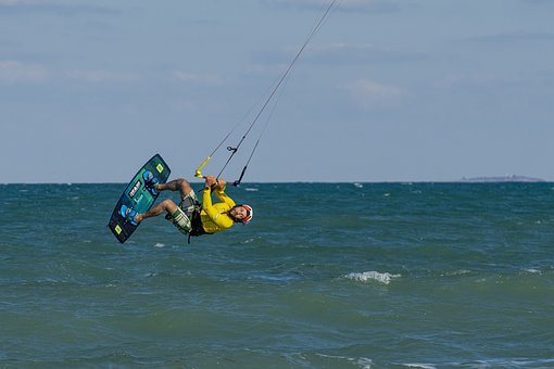 Kitesurfing, Kiteboarding, Extreme Sport
