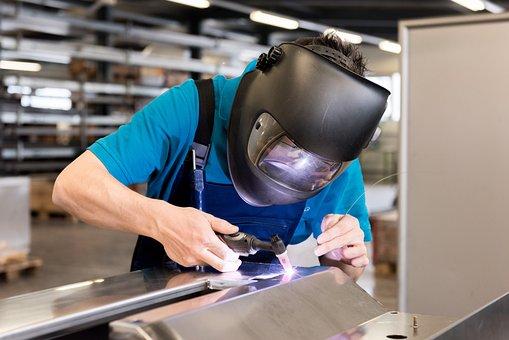 Welding, Work, Helmet