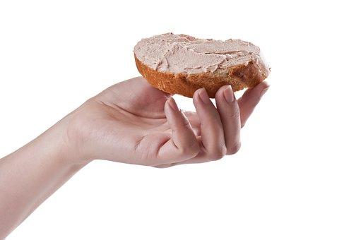 Bread, Paste, Pâté, Spread, Hand