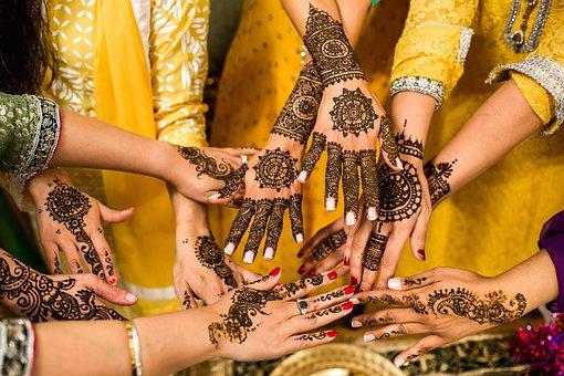 Hands, Henna, Tattoo, Tradition, Body