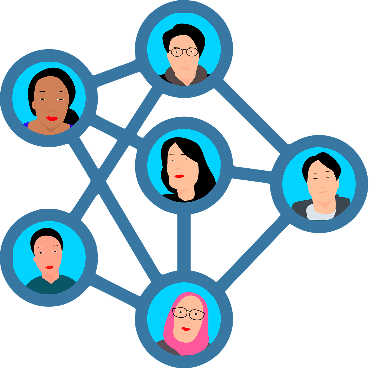 Social Media Network People - Free vector graphic on Pixabay
